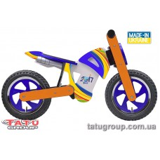"Велобіг TATU-BIKE  ""CROSS"" ( помаранчево-синій)"