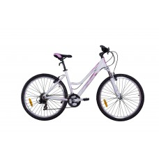 "Велосипед 27,5"" VNV Lotus C1 Pink, Lady MTB ALLOY LADY 21-SPD V-BRAKE рама 48см"