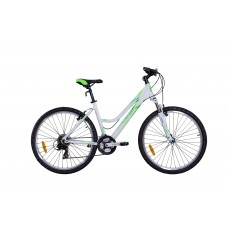 "Велосипед 27,5"" VNV Lotus C2 Green, Lady MTB ALLOY LADY 21-SPD V-BRAKE рама 48см"