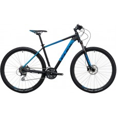 "Велосипед 29 ""Cube Aim Race black-n-blue 2017 21"""