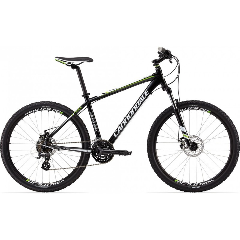 "Велосипед 26"" Cannondale Trail 7 рама - X 2013 черн."