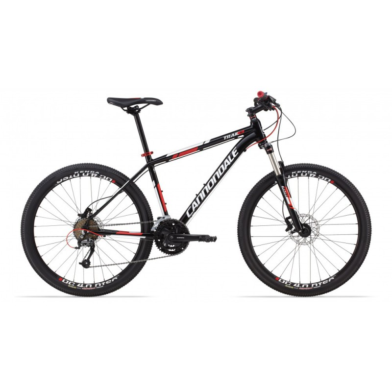 "Велосипед 26"" Cannondale Trail 5 Helix 6 гидравл. рама - X 2013 черно-матовый"