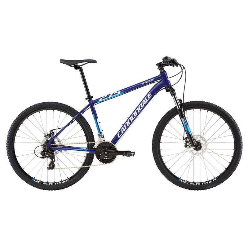 "Велосипед 27,5"" Cannondale Trail 8 рама-S 2016 синий"