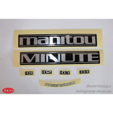 комплект наклеек Manitou 07KIT MINUTE STICKER LC (оригинал)