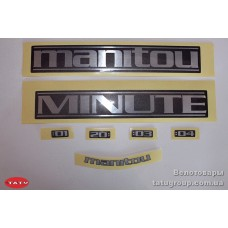комплект наклеек Manitou 07KIT MINUTE STICKER DC (оригинал)