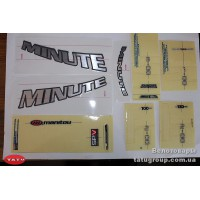 комплект наклеек Manitou 04KIT MIN STICKER DC FORK (оригинал)