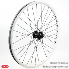 колесо Syncros FR FRONT 20MM THROUGH AXLE  Balck hub/White RIM